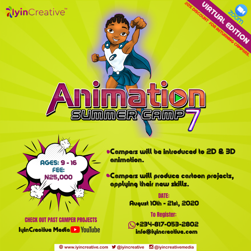 Iyincreative Animation Summer Camp 7 - The Virtual Edition. image